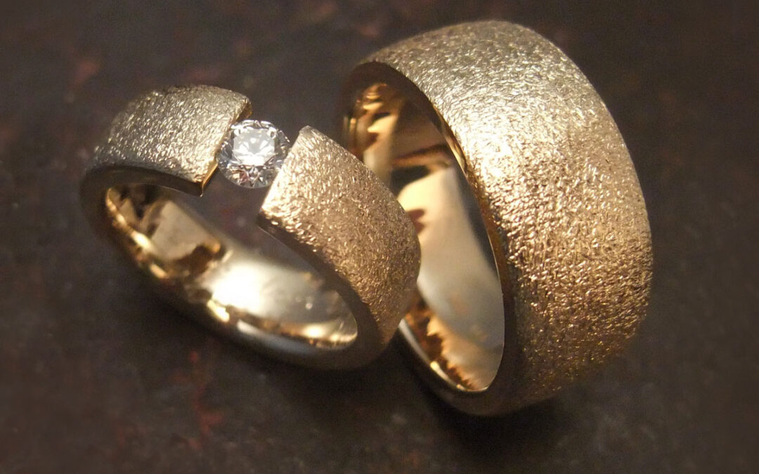 Klassisk og rustikt forenet med svævende diamant